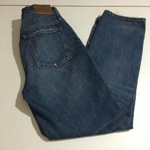 Madewell Classic Straight Womens Jeans 26 Distress